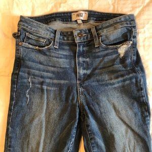 Paige size 28 skinny jean